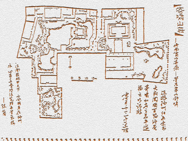 扬州白塔平面图