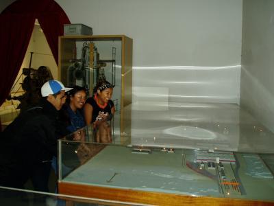 Roliga lampor på Sjöfartsmuseet