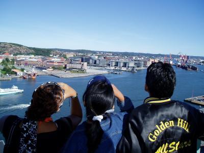 Utsikt från Sjömanshustrun