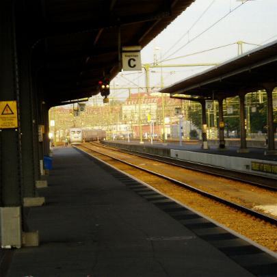Fler nicaraguaner försvinner på ett tåg bort mot fjärran