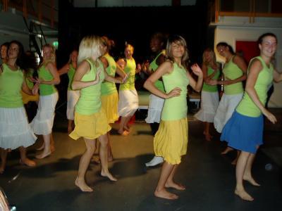 Danselever som dansar merenge