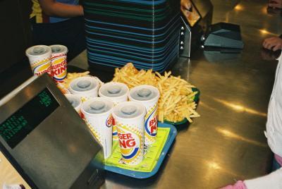 Läsk och Fries